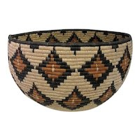 Northern California India Coil Basket