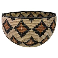 Northern California Indian Coil Basket