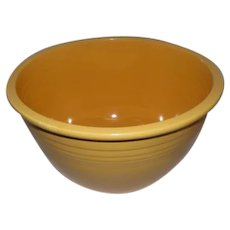 Old Fiest #7 Mixing Bowl - Yellow