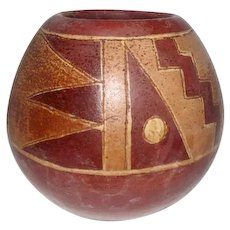 "Old Pueblo Indian Pottery Vase - 5 1/4"" Tall"
