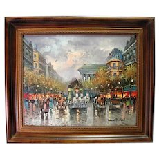 Original Oil on Canvas By Antoine Blanchard