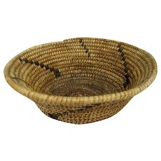 "Pima Basket - 2 1/4"" tall and 6 1/2"" diameter"