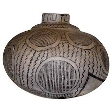 "Rare Anasazi/Cibola Whitewater Pot Vase - 9"" Tall"