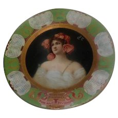 Vienna Art Plate - 1907 The Harvard Brewing Co. - Lowell, Mass.