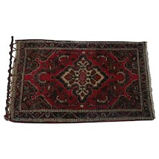 "Lot #1 Basiran - Genuine Oriental Rug - ""Super Lilahan Poshtie"" - 40 x 24 1/4"