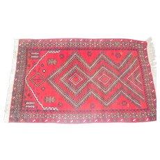 """Lot #3 - 1930's 100% Wool Pile Rug - Afghanistan - 62"""" x 36 1/2"""""""