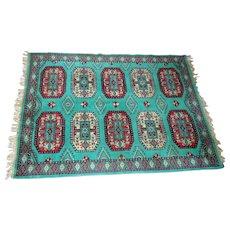 "Lot #4 Ten Medallion Persian Rug ""Turkoman Rug of the Salor Tribe 68"" - 68"" x 47"""