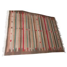"Lot 1A - Beautiful -Wool Weaved Rug Made in Turkey - Kok-Boya Karyola - 98"" x 68 1/2"""