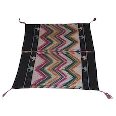 "Lot #6A - Hand Stitched Prayer Rug - 33"" x 35"""