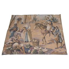 "Lot #9A - Tapestry Wall Hanging Rug - 37 3/4"" x 47"""