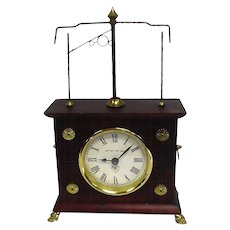 Collector Clock w/Flying Ball - Jerome & Co.