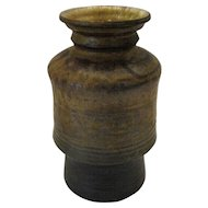 "Grhuke Pottery Vase - 6/71 - 7"" Tall"