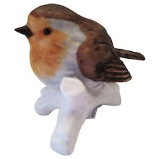 "Goebel W. Germany Robin Bird Figurine - 2 1/8"" Tall"