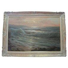 Oil on Canvas - Seascape Italy - Marproshi