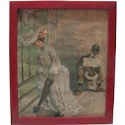 """Early 1920's Print """"Pity The Blind"""""""