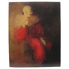 """Modern Reflection"" by RUNCI Decor Plaque"