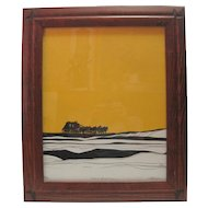 """Signed & Numbered Print - """"12:45 to Cheyenne"""" by S. Laxson - 49/300"""