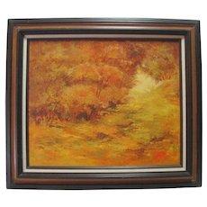 Anna Claire Price - Oil on Canvas - Autumn Landscape