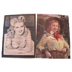 Pair of Gail Robbins Prints - Framed