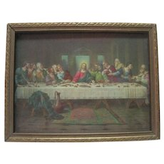 Brunozetti Print of The Last Supper - Signed