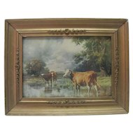 1900 R. Arkinson Fox - Cow Print