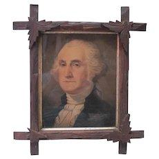 Strabridge & Co Lithograph, Cin OH - President Washington
