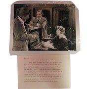 Original B&W Agnes Ayres/William DeMille/Jack Holt Photo