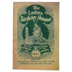 1951 The Ladies Birthday Almanac