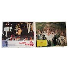 Pair of 1972 Lobby Card Posters - Barbara Streisand