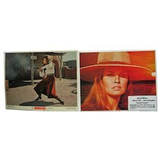 Pair of 1968/72 Lobby Card Posters - Raquel Welch