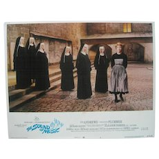 "1973 20th Century Fox Film ""The Sound of Music"" Lobby Card"