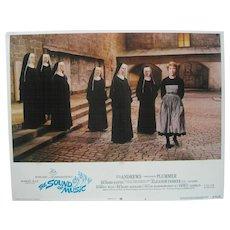 "1973 20th Century Fox Film ""The Sound of Music"" Lobby Card"