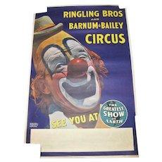 1969 Ringling Bros & Barnum-Bailey Circus Poster