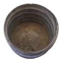 Clear Glass - Hood's Sarsaparilla Bottle Apothecaries -C.I.Hood & Co Lowell Massachusetts
