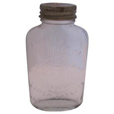 Horlick's Lunch Tablets - Malted Milk Bottle w/Lid