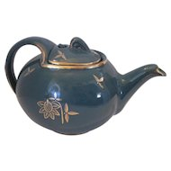 Hall 0760 6-Cup Teapot w/Lid - Forest Green