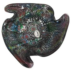 Art Glass - J. I. Co. Handmade Venetian Amethyst Glass - Made in Italy