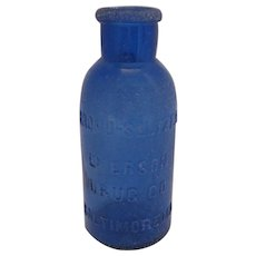 Bromo- Seltzer - Emerson Drug Co. Bottle - Baltimore MD