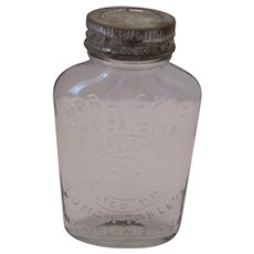 "Horlick's ""The Original Lunch Tablets"" - Malted Milk Bottle w/Lid"
