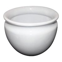 Made in Italy - White Planter Vase Bowl - Smith & Hawken