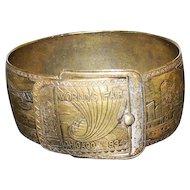 "Collector World's Fair Chicago 1934 Bracelet - 2 3/8"" Diameter"