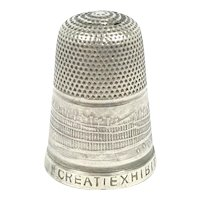 1851 Great Exhibition Silver Thimble