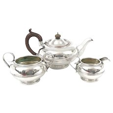 Georgian Old Sheffield Plate Tea Set