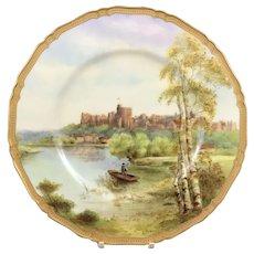 Royal Worcester Windsor Castle Collectors' Plate