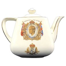 Art Deco Edward VIII Teapot