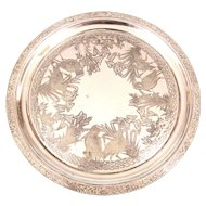 Aesthetic Silver Plated Walker and Hall Tray