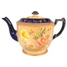 Rose & Curlicue Carlton Ware Teapot