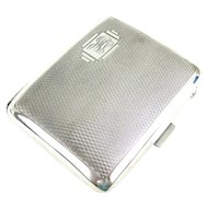 Art Deco Silver Cigarette Case