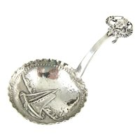 Adolph Barsach Davis Imported Silver Caddy Spoon
