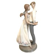 Large Lladro Figurine 6746 Love's Little Surprises